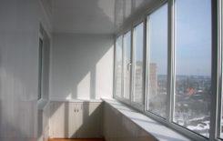 Можно ли делать натяжной потолок на балконе и лоджии