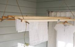 Как сделать потолочную сушилку для белья своими руками