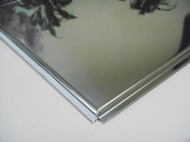 Зеркальная кассета из металла