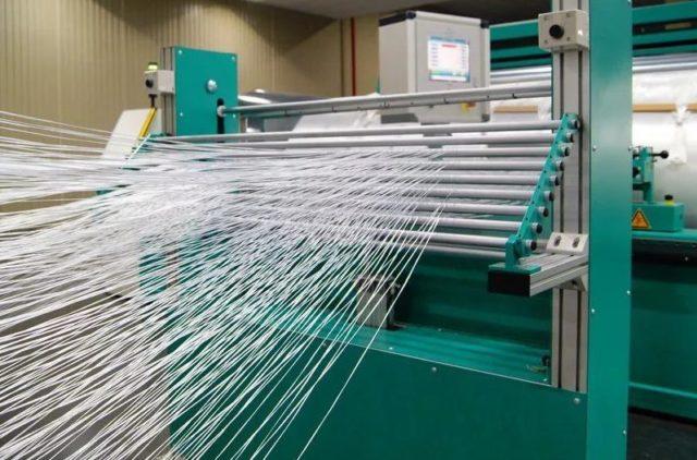 Производство полиэстеровых нитей