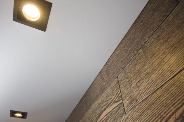Вид потолка с невидимым профилем