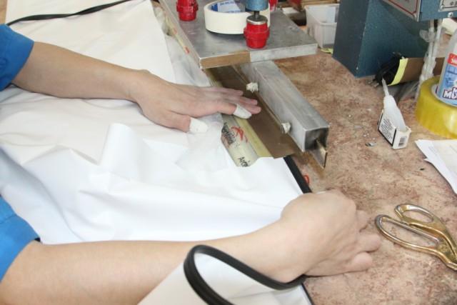 Приварка гарпуна на производстве