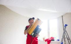 Как сделать натяжной потолок своими руками: технология монтажа