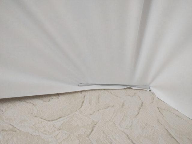 Крепление штапиком материала