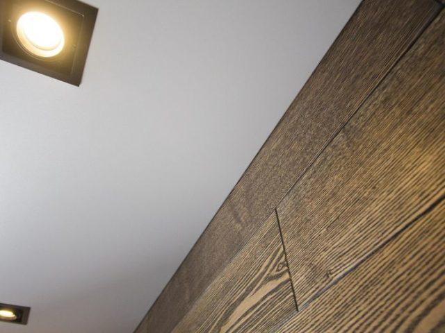 Бесщелевой матовый натяжной потолок