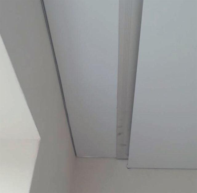 Профиль Ниша на потолке