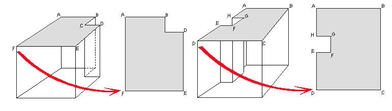 Проекция потолка