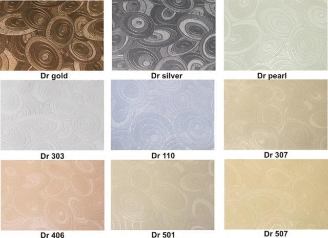 Примеры текстурного полотна для потолков