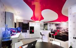 Современные варианты дизайна натяжных потолков: более 200 красивых и оригинальных идей