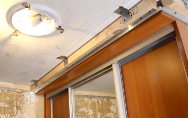Конструкция для обхода шкафа