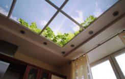 10 способов имитации окна в потолке: от самых простых до сложных конструкций с подсветкой