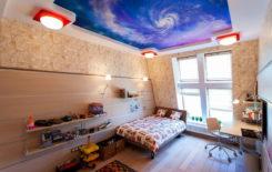 Образцы фотопечати на натяжных потолках: 200 идей рисунков и узоров