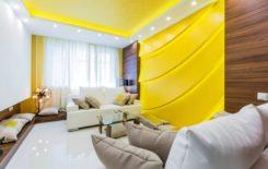 Цветные натяжные потолки в интерьере: какой цвет выбрать