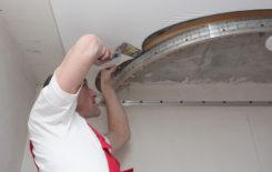 Монтаж двухуровневого натяжного потолка своими руками с помощью готовых конструкций