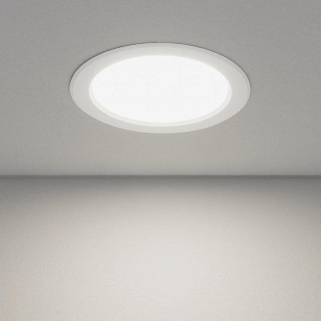 LED-светильник на потолке
