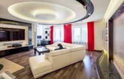 Как делают многоуровневые натяжные потолки: пошаговая инструкция