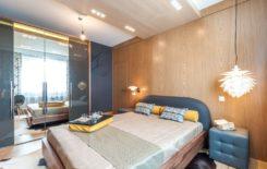 Варианты освещения спальни с натяжным потолком