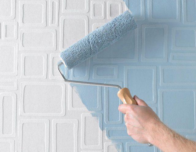 Покраска текстурной поверхности
