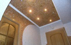 Особенности отделки потолка пробковым покрытием