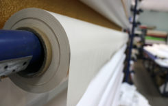 Рулон пленки ПВХ для натяжных потолков
