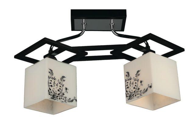 Светильник с двумя плафонами направленными вниз