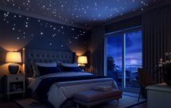 10 способов как сделать звездное небо на потолке своими руками
