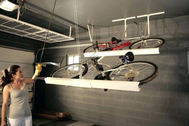 Рама для двух велосипедов