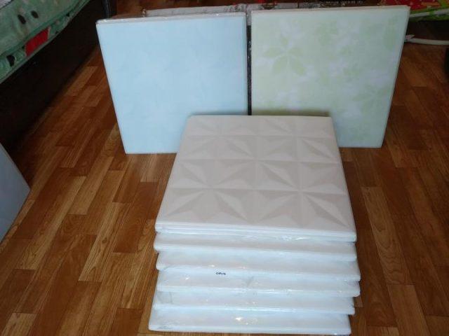 Упаковка пенопластовой плитки