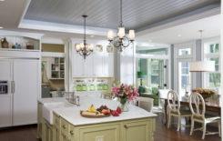 Идеи дизайна потолка в стиле прованс: особенности оформления интерьера