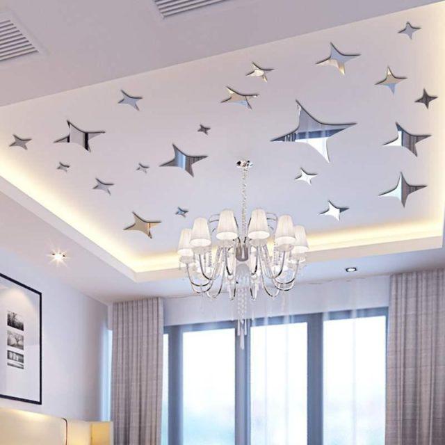 Блетящие звезды на потолок
