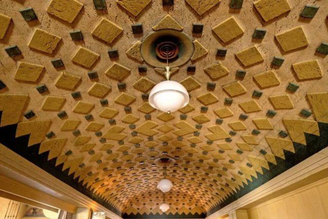Пробковый потолок