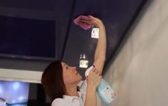 Как и чем мыть натяжные потолки без разводов в домашних условиях: проверенные средства