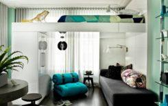Кровать под потолком в однокомнатной квартире: какая подойдет и как сделать своими руками