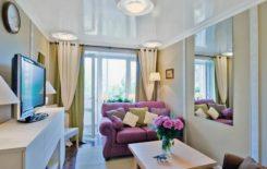 Какой потолок лучше сделать в маленькой комнате: идеи дизайна