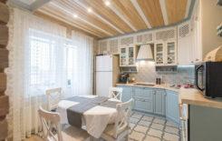 Идеи дизайна потолка из деревянной вагонки