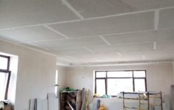 Потолок из гвл