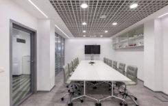 Технология монтажа подвесного потолка Грильято