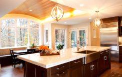 Особенности отделки потолка гипсокартоном в деревянном доме