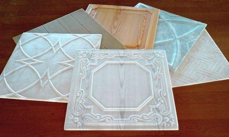 Ламинированная плитка из пенопласта