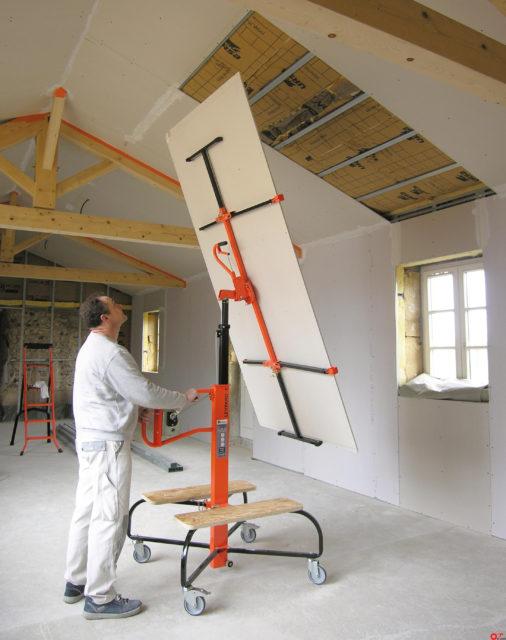 Станок подходит для обшивки мансардного потолка