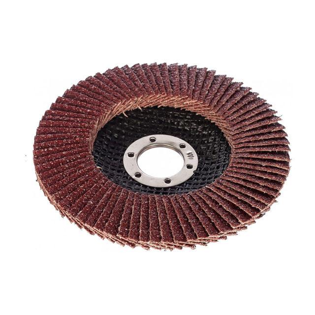 Лепестковый диск с наждачкой