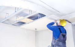 Ремонт гипсокартонного потолка